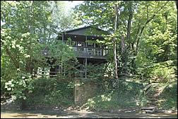 Harrison Spring Cabin rental home on Blue River